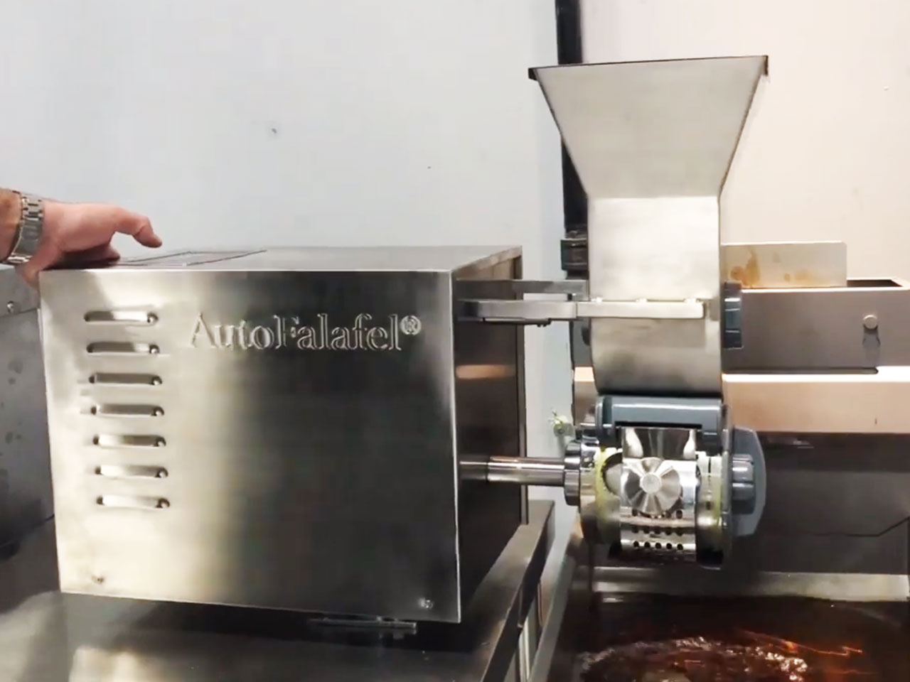 AutoFalafel Machine